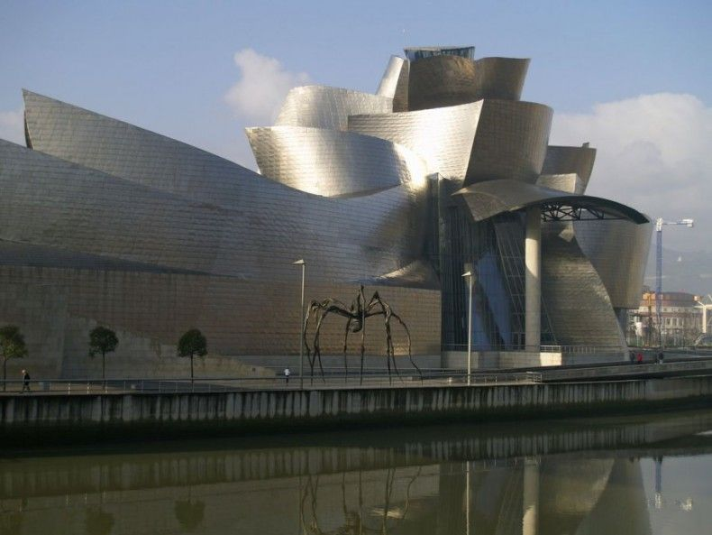 503618 the guggenheim museum bilbao in bilbao spain is a work of art itself it has also put bilbao an industrial city on the map as a center for art ΜΟΥΣΕΙΑ