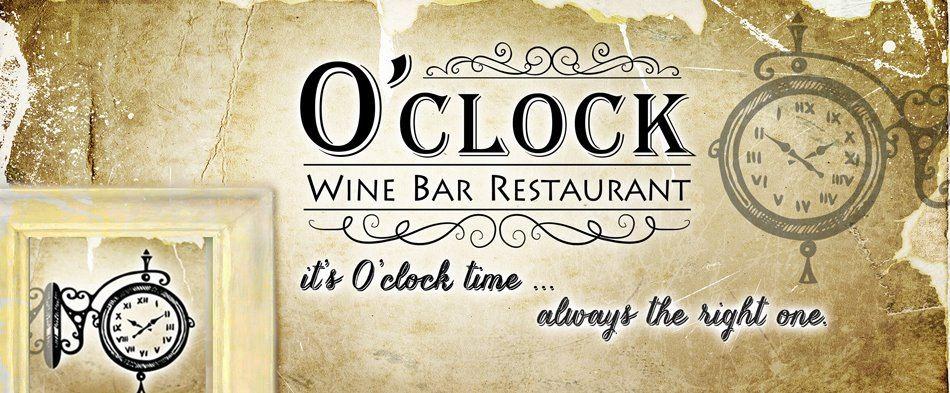 o clock logo O CLOCK