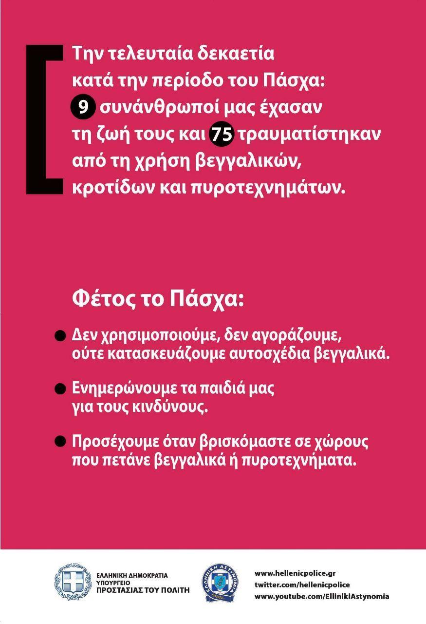 beggalika final page 2 ΤΡΟΧΑΙΑ ΠΥΡΟΤΕΧΝΗΜΑΤΑ ΠΑΣΧΑ 2015 ΕΛΛΗΝΙΚΗ ΑΣΤΥΝΟΜΙΑ ΒΕΓΓΑΛΙΚΑ